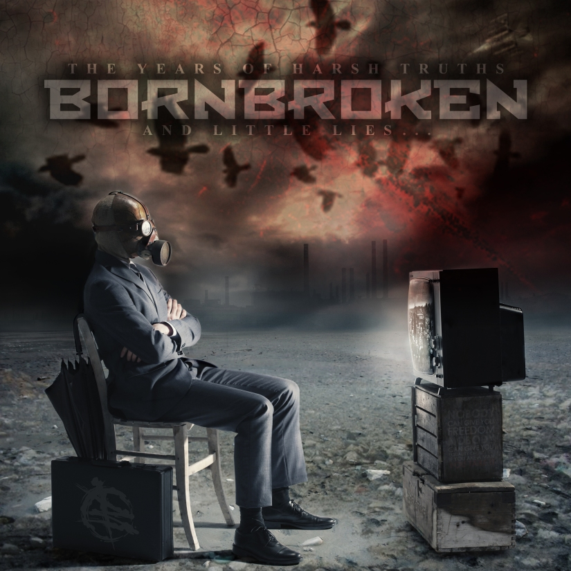 Born Broken - cover lp