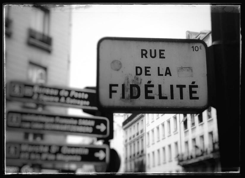 rue de la fidelité