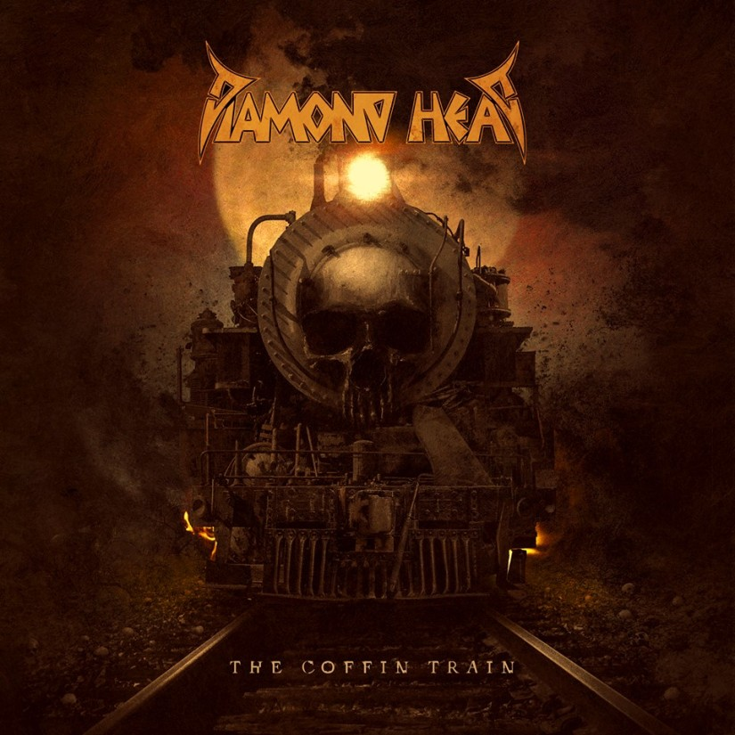 Diamond Head The Coffin Train cover