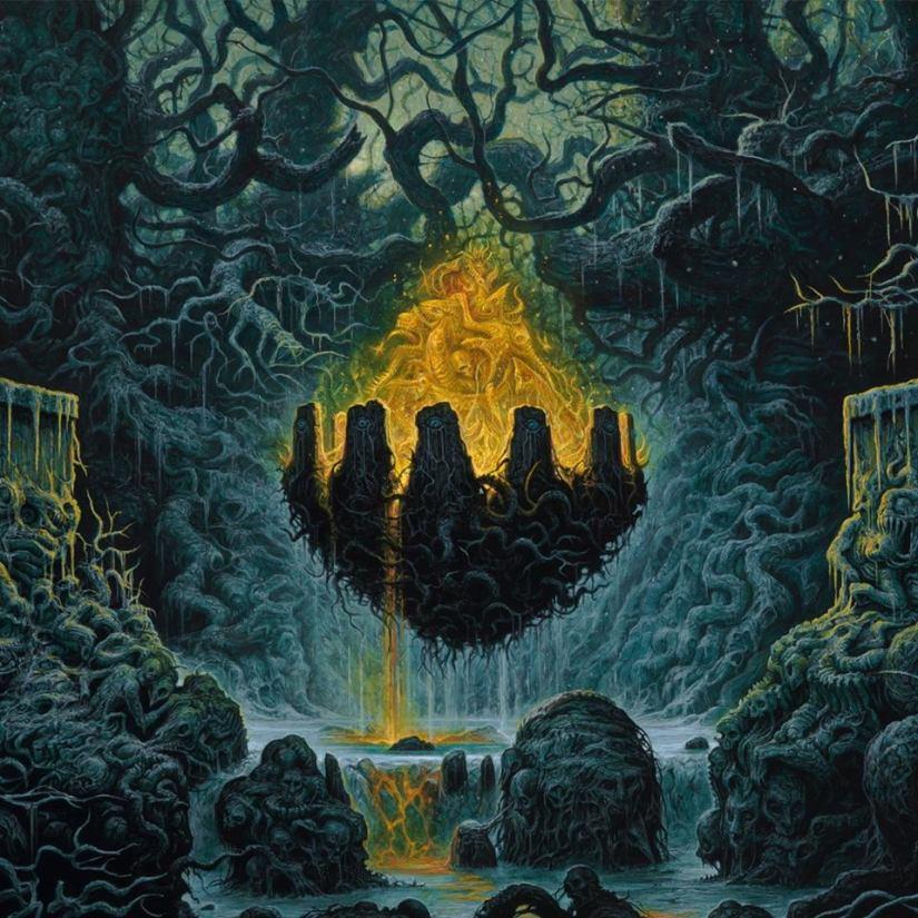 Entombed Clandestine artwork