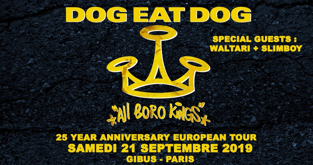 Dog Eat Dog - concert paris