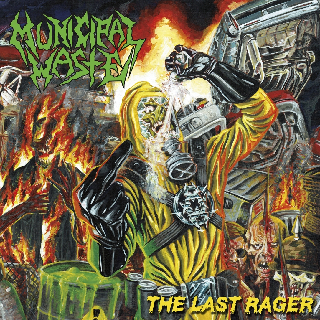 Municipal Waste - The Last Rager - Artwork