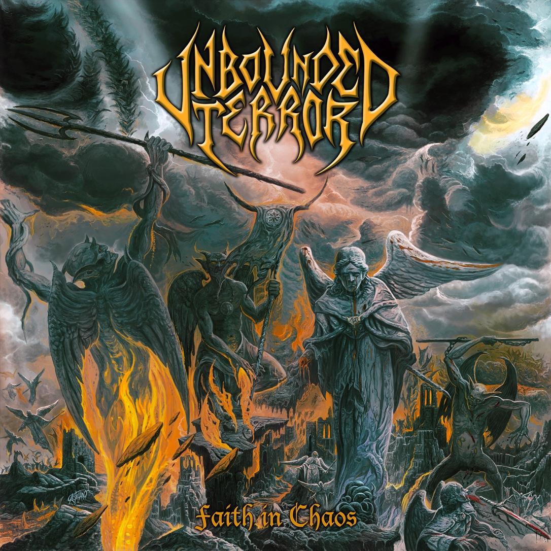 Unbounded Terror - Faith In Chaos 12x12cm