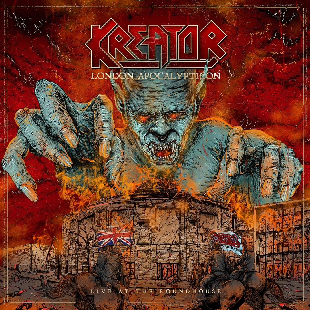 Kreator - London Apocalypticon - Live at the Roundhouse - Artwork