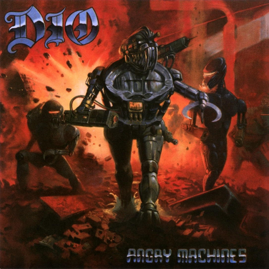 cover DIO - Angry Machines 2019 Remaster