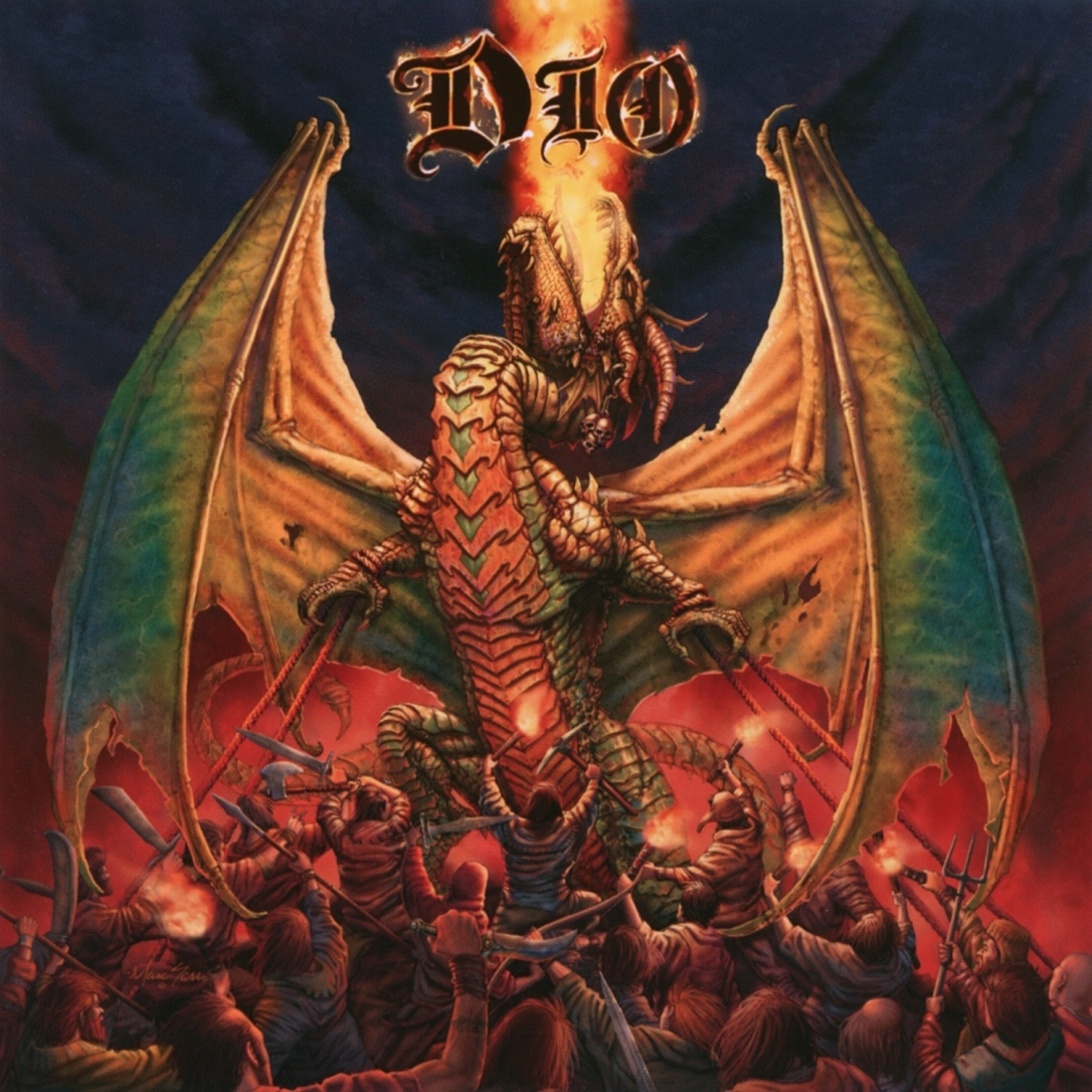 cover DIO - Killing the Dragon 2019 Remaster