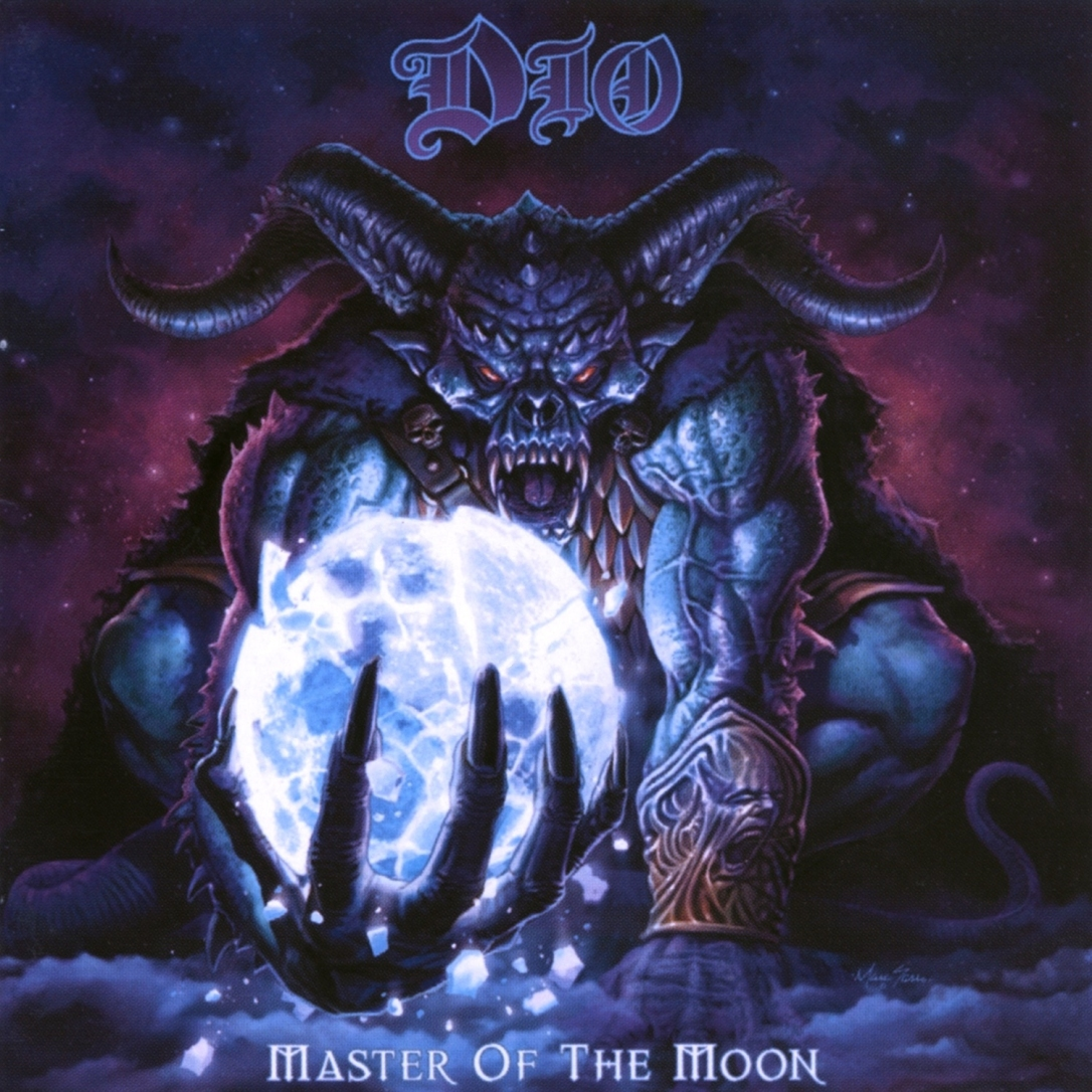 cover DIO - Master of the Moon 2019 Remaster