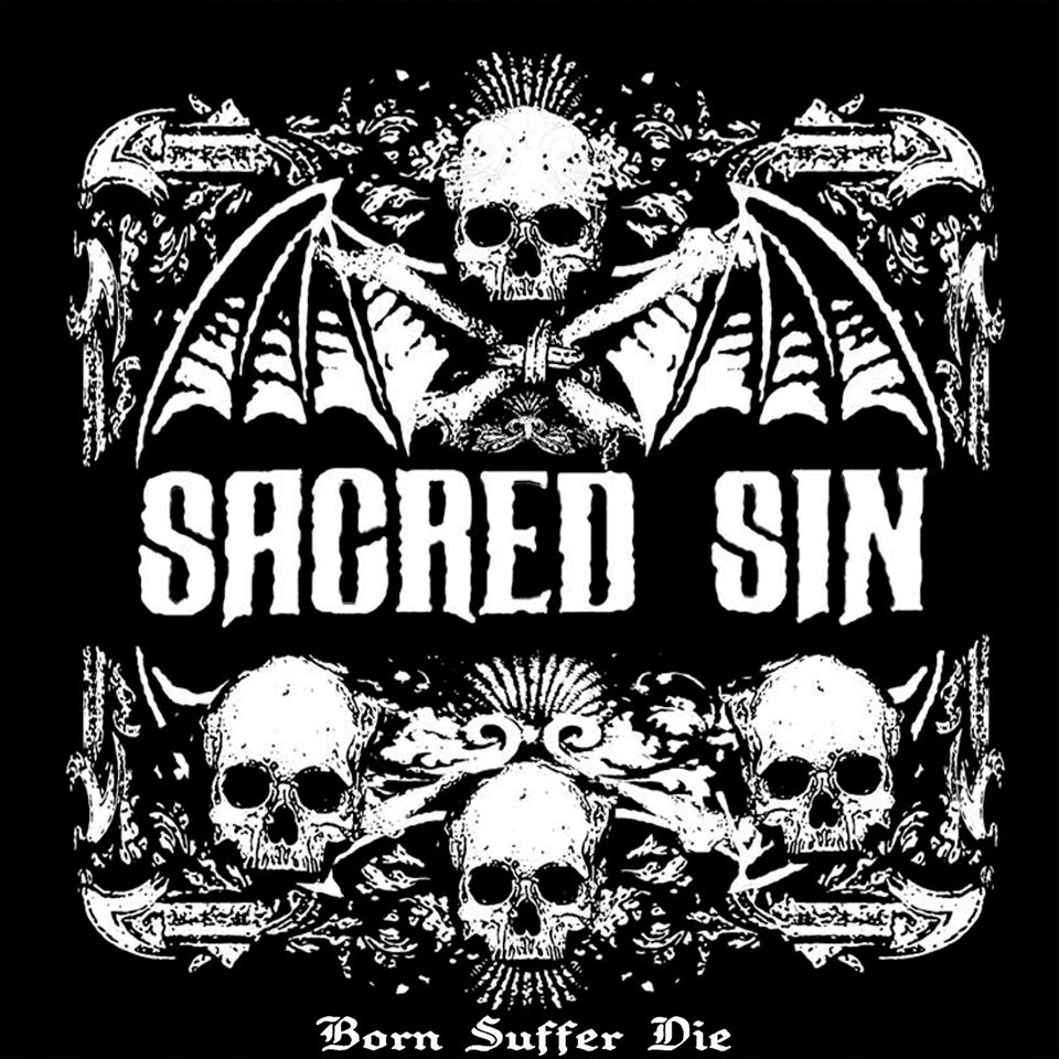 Sacred Sin - Born Suffer Die cover cd