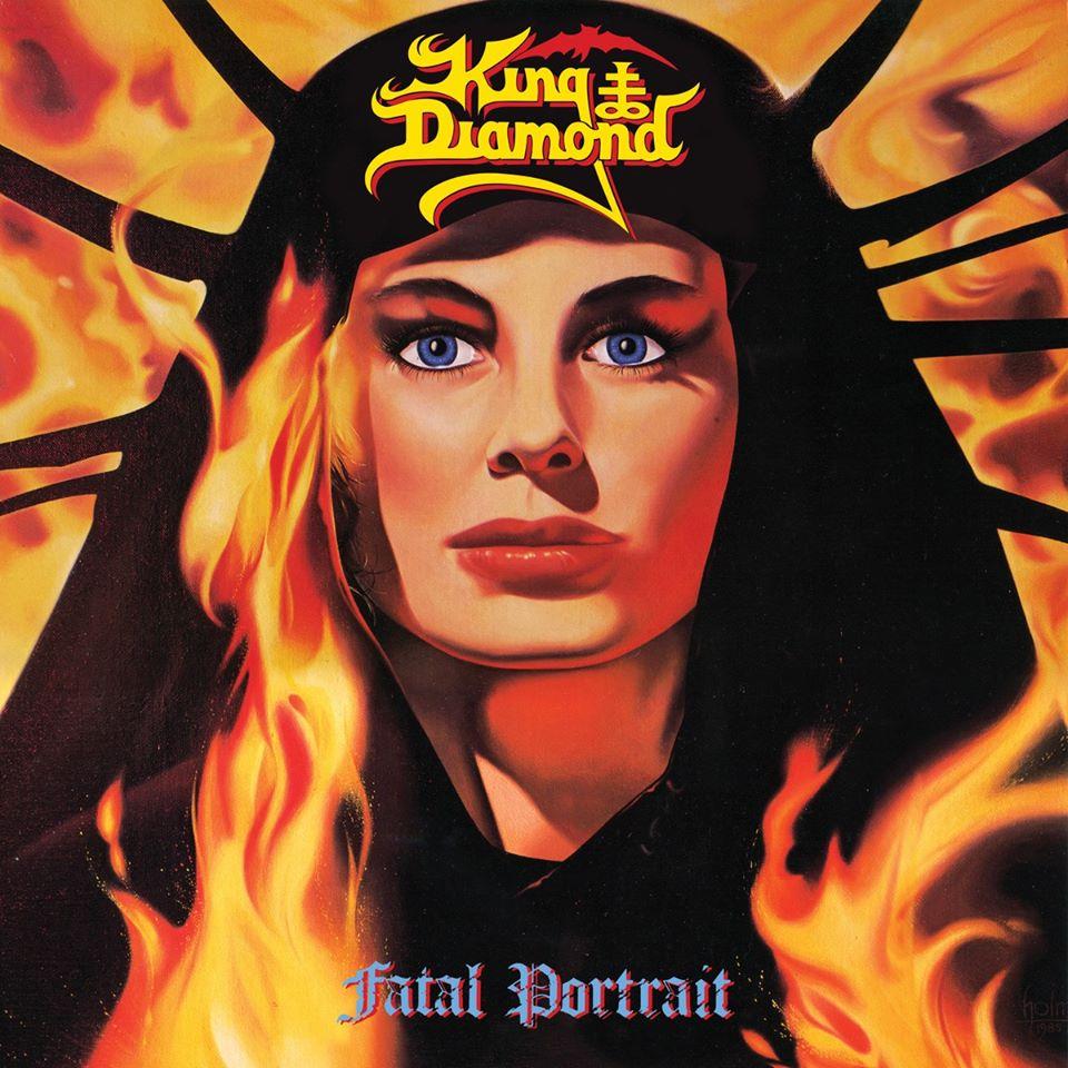 King Diamond - Fatal Portrait cover