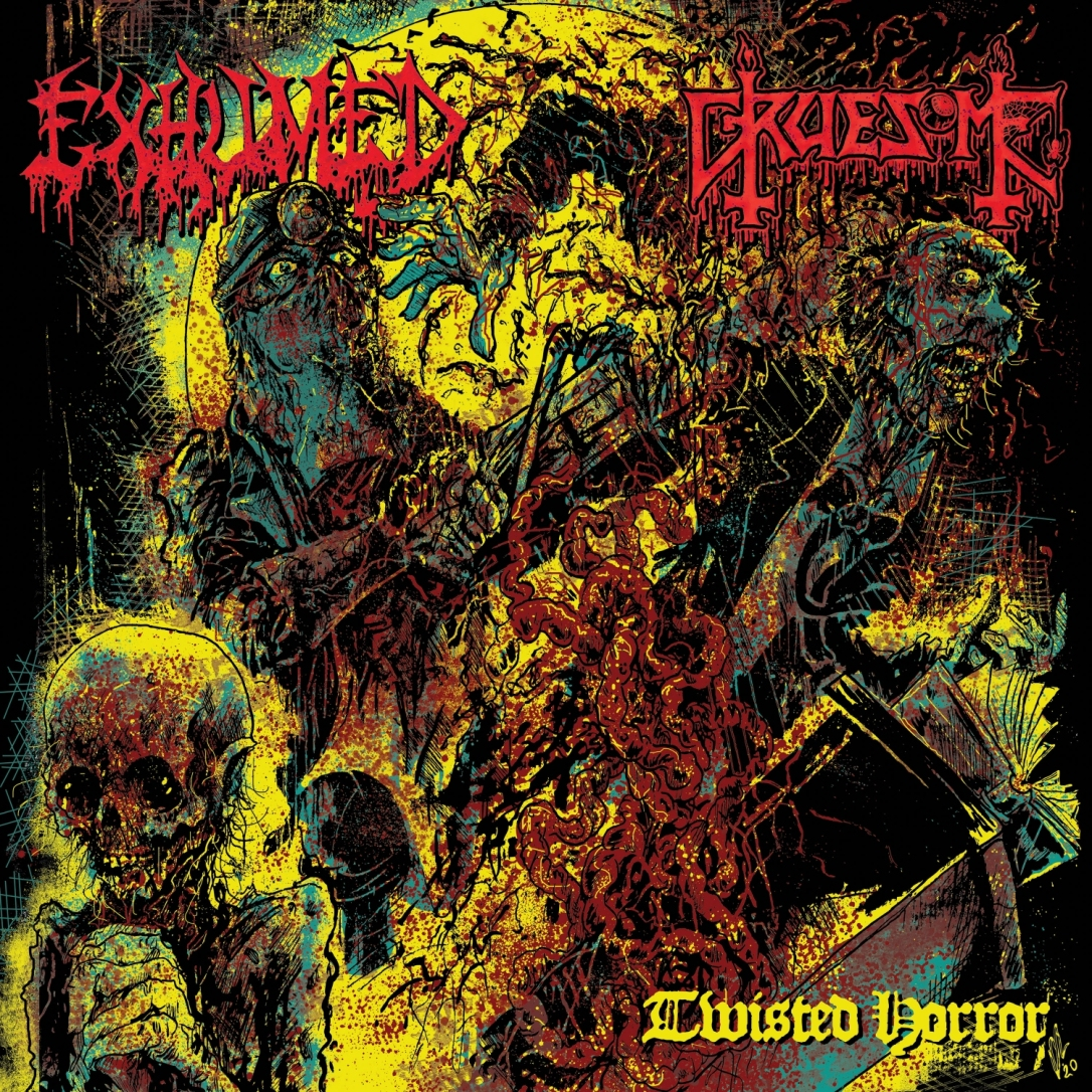 cover Exhumed Gruesome - Twisted Horror