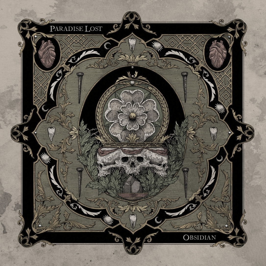 Paradise Lost - Obsidian - Artwork